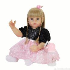 Muñecas Modernas: MUÑECA REBORN SILICONA. Lote 228949805