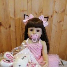 Muñecas Modernas: MUÑECA REBORN SILICONA. Lote 228950205