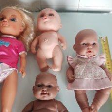 Muñecas Modernas: LOTE MUÑECAS. Lote 232114775