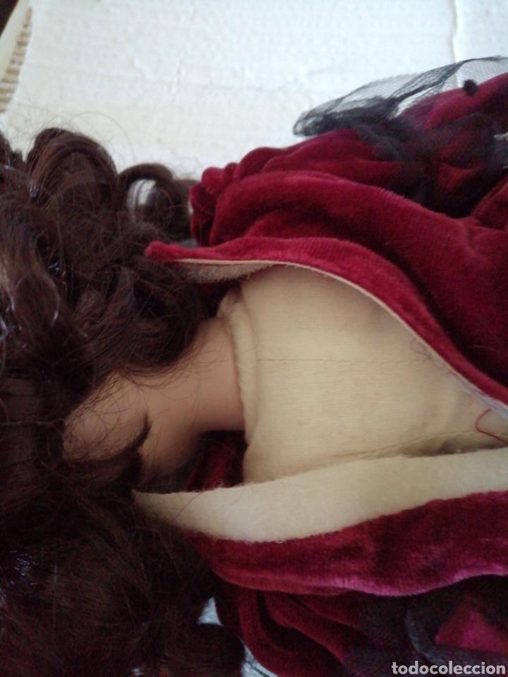 Muñecas Modernas: Muñeca en vestído de terciopelo - Foto 10 - 232921845