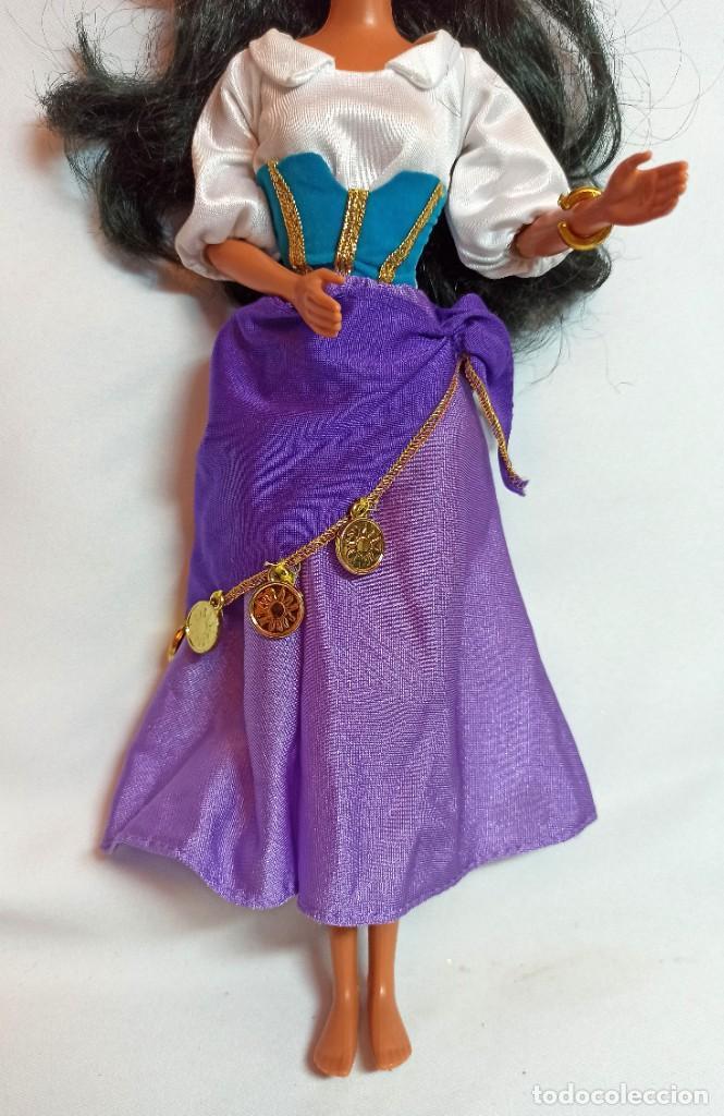 Muñecas Modernas: Muñeca Esmeralda,Jorobado de Notre Dam y vestido Esmeralda de Disney - Foto 7 - 234563085