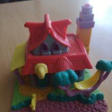 Muñecas Modernas: POLLY POCKET CASA CON LUZ. LIGHT-UP KITTY HOUSE. SIN MUÑECOS. 1994. Lote 235072290