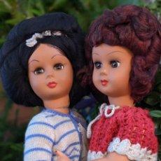 Muñecas Modernas: MUÑECAS ATHENA - ITALIANAS - VINTAGE - ORIGINAL AÑOS 60 - PAREJA DE MUÑECAS. Lote 261233035