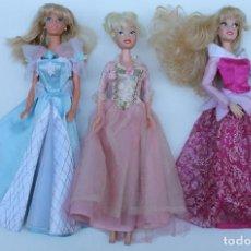 Muñecas Modernas: LOTE DE 3 MUÑECAS PRINCESAS DISNEY.. Lote 237524965