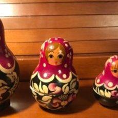 Muñecas Modernas: MUÑECAS RUSAS MATRIOSKAS. Lote 238247675