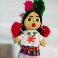 Muñecas Modernas: MUÑECA MEXICANA - CHIAPAS. Lote 240244685
