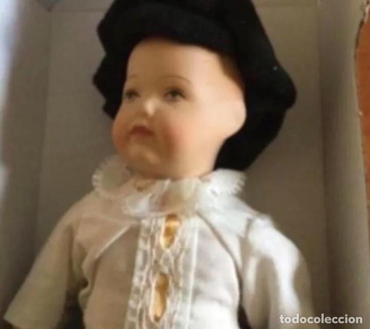 Muñecas Modernas: Lindo Muñeco de Porcelana. Cara Bonita. En su caja - Foto 6 - 241387600