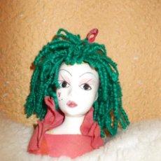 Muñecas Modernas: GASTOS 6€. CABEZA DE PORCELANA. RETRO & VINTAGE. Lote 241715815