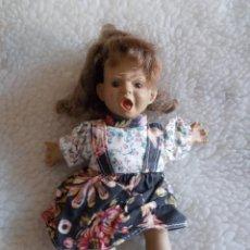 Muñecas Modernas: GASTOS 8€. BONITA Y PECULIAR MUÑECA DE TRAPO PEQUEÑA.RETRO & VINTAGE. Lote 241728490