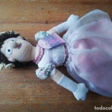 Muñecas Modernas: MUÑECA DE TRAPO JANE AUSTEN. Lote 241906175