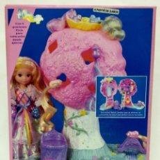 Muñecas Modernas: LADY TIRABUZONES: CASITA ENCANTADA DE LOS PIXIS DE DE MATTEL AÑOS 80. NUEVA. Lote 245488815