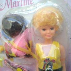 Muñecas Modernas: BLISTER AÑOS 80 MUÑECA DE MARTINE CON ACCESORIOS. Lote 246087160