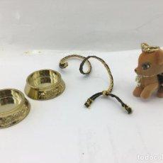 Muñecas Modernas: PERRITO (CHIHUAHUA) CON CORREA, BEBEDERO Y COMEDERO DE LAS BRATZ. Lote 246159815