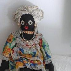 Muñecas Modernas: MUÑECA CON TRAJE REGIONALE BAHIAN DE BRASIL - 50CM. Lote 252799450