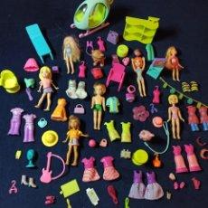 Muñecas Modernas: LOTE DE MUÑECAS POLLY POCKET CON MUCHAS MUÑECAS Y COMPLEMENTOS Nº2. Lote 253906150