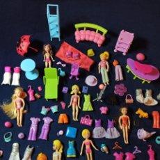 Muñecas Modernas: LOTE DE MUÑECAS POLLY POCKET CON MUCHAS MUÑECAS Y COMPLEMENTOS Nº3. Lote 253906295