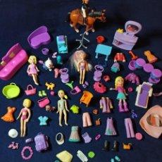 Muñecas Modernas: LOTE DE MUÑECAS POLLY POCKET CON MUCHAS MUÑECAS Y COMPLEMENTOS Nº6. Lote 253906760