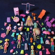 Muñecas Modernas: LOTE DE MUÑECAS POLLY POCKET CON MUCHAS MUÑECAS Y COMPLEMENTOS Nº7. Lote 253906870