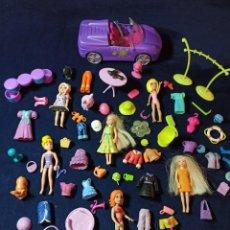 Muñecas Modernas: LOTE DE MUÑECAS POLLY POCKET CON MUCHAS MUÑECAS Y COMPLEMENTOS Nº9. Lote 253907250