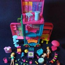 Muñecas Modernas: LOTE DE MUÑECAS POLLY POCKET CON MUCHAS MUÑECAS Y COMPLEMENTOS Nº10. Lote 253907685