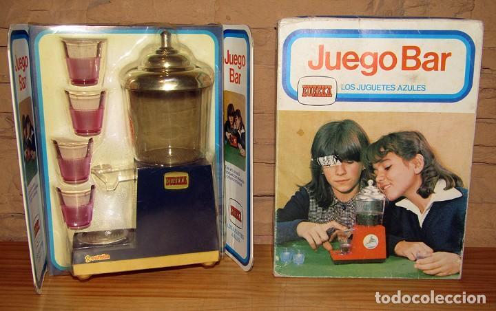 EUREKA - JUEGO BAR - NUEVO Y EN SU CAJA ORIGINAL - AÑOS 70 (Juguetes - Muñeca Extranjera Moderna - Otras Muñecas)