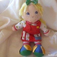 Muñecas Modernas: MUÑECA DE TRAPO.. Lote 262911160