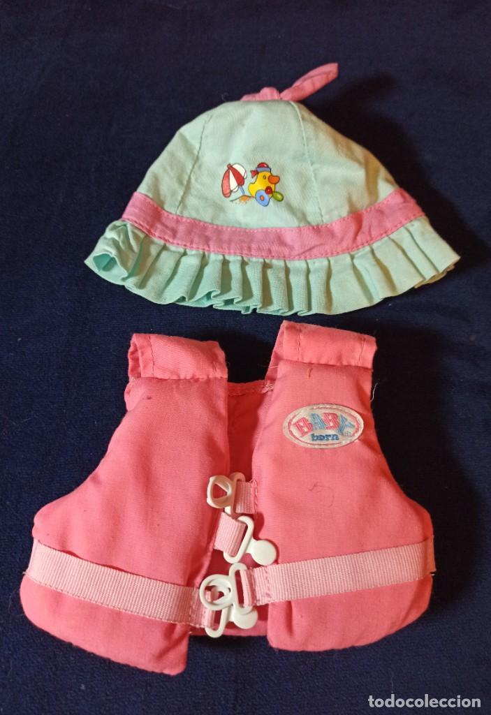 Muñecas Modernas: Lote de muñeco Baby Born con casi todo original. - Foto 7 - 263000530