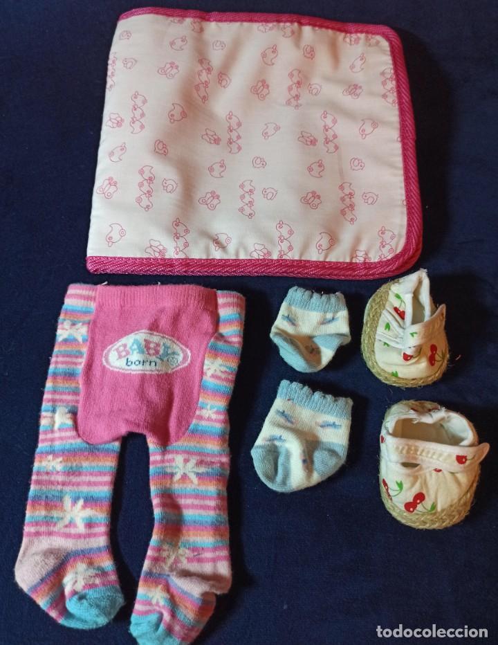 Muñecas Modernas: Lote de muñeco Baby Born con casi todo original. - Foto 20 - 263000530