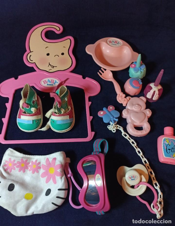 Muñecas Modernas: Lote de muñeco Baby Born con casi todo original. - Foto 23 - 263000530
