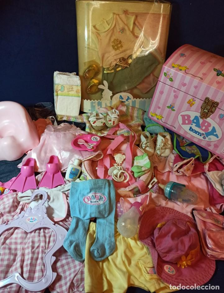 LOTE DE MUÑECO BABY BORN CON CASI TODO ORIGINAL. (Juguetes - Muñeca Extranjera Moderna - Otras Muñecas)