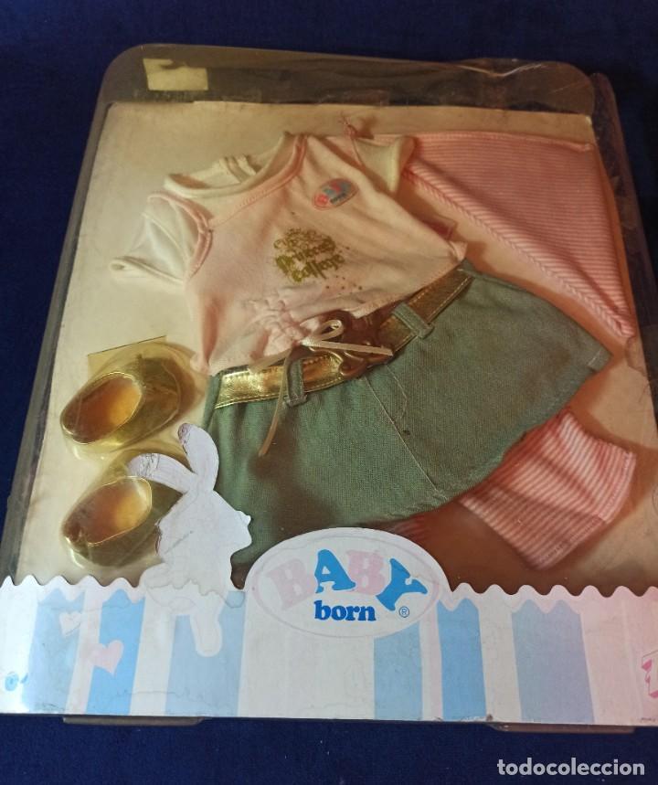 Muñecas Modernas: Lote de muñeco Baby Born con casi todo original. - Foto 2 - 263000665