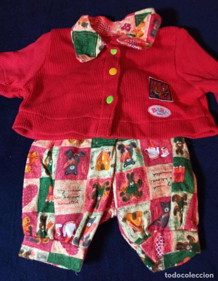 Muñecas Modernas: Lote de muñeco Baby Born con casi todo original. - Foto 4 - 263000665