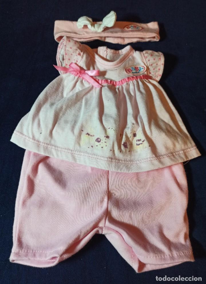 Muñecas Modernas: Lote de muñeco Baby Born con casi todo original. - Foto 7 - 263000665