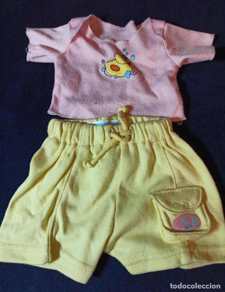 Muñecas Modernas: Lote de muñeco Baby Born con casi todo original. - Foto 8 - 263000665