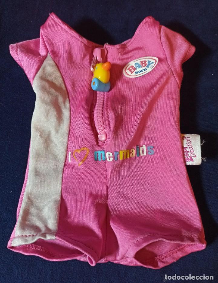 Muñecas Modernas: Lote de muñeco Baby Born con casi todo original. - Foto 14 - 263000665