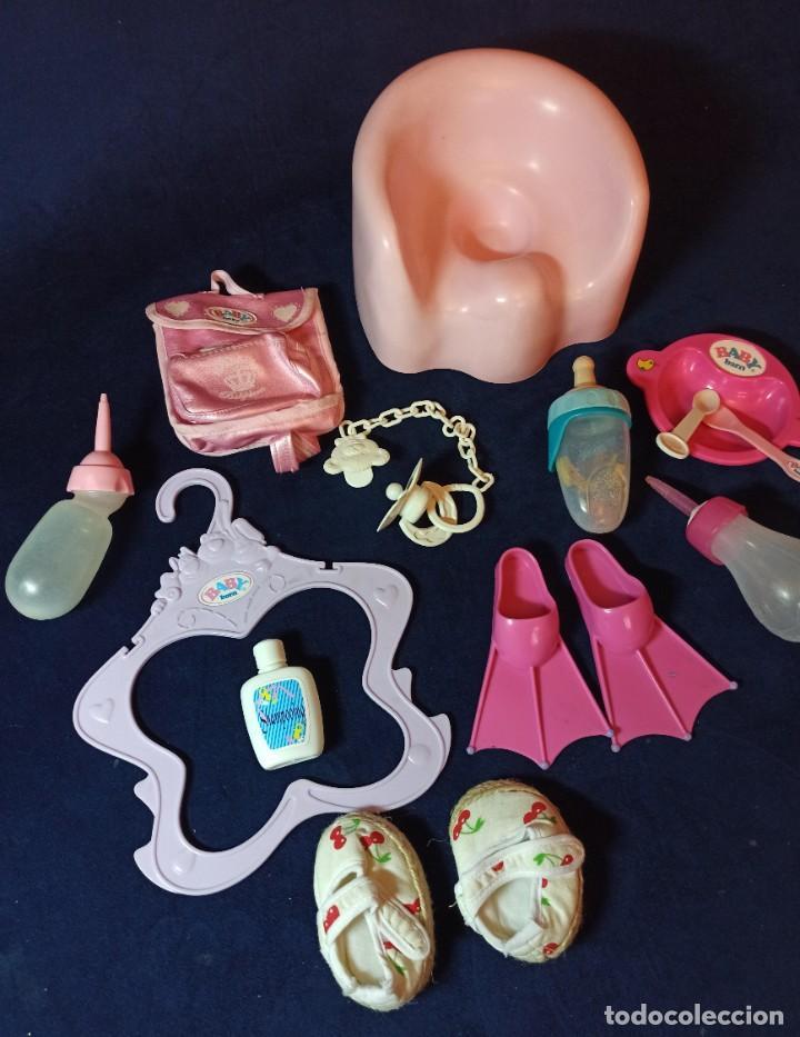 Muñecas Modernas: Lote de muñeco Baby Born con casi todo original. - Foto 19 - 263000665