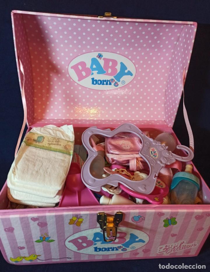Muñecas Modernas: Lote de muñeco Baby Born con casi todo original. - Foto 21 - 263000665