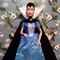 Muñecas Modernas: PRECIOSA MUÑECA EVIL QUEEN GRIMHILDE, MADRASTRA DE BLANCANIEVES - DISNEY - MATTEL. Lote 266797219