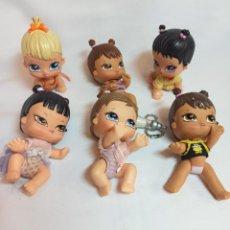 Muñecas Modernas: LOTE DE MUÑECAS BRATZ BEBES.REGALO BOLSO DE LAS BRATZ NUEVO. Lote 267666709
