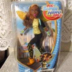 Muñecas Modernas: PRECIOSA MUÑECA BUMBLEBEE DE DC SUPER HERO GIRLS DE MATTEL 2016, CON CAJA ORIGINAL, NUEVA A ESTRENAR. Lote 268321934