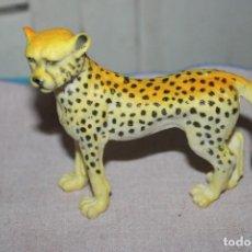 Muñecas Modernas: MUÑECO ANIMALES SALVAJES LEOPARDO DE GOMA DURA - MEDIDA DE ALTURA: 10CM. Lote 269011834