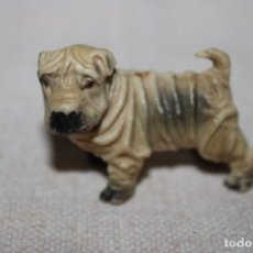 Muñecas Modernas: MUÑECO ANIMALES PERRITO DE GOMA DURA - MEDIDA DE ALTURA: 5,5CM. Lote 269012099