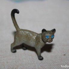 Muñecas Modernas: MUÑECO ANIMALES GATITO DE GOMA DURA - MEDIDA DE ALTURA: 3CM. Lote 269012124