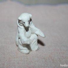 Muñecas Modernas: MUÑECO ANIMALES OSO BLANCO DE GOMA DURA - MEDIDA DE ALTURA: 3,5CM. Lote 269012189