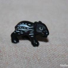 Muñecas Modernas: MUÑECO ANIMALES TAPIR BEBE DE GOMA DURA - MEDIDA DE ALTURA: 1CM. Lote 269012469
