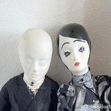 Muñecas Modernas: RARA Y DIFICIL PAREJA BOUDOIR ART DECO DE PORCELANA. Lote 276629913