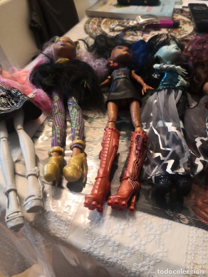 Muñecas Modernas: Lote de 7 muñecas monsters high - Foto 8 - 276977873