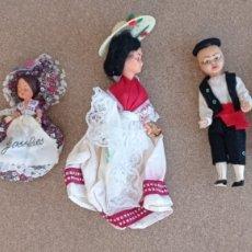 Muñecas Modernas: LOTE DE 7 MUÑECAS ENTRE 10 Y 15 CMS. Lote 277277598