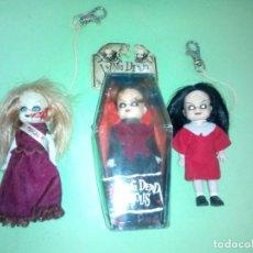 Muñecas Modernas: LOTE MUÑECA MINI LIVING DEAD DOLLS SERIE 1. Lote 288918463