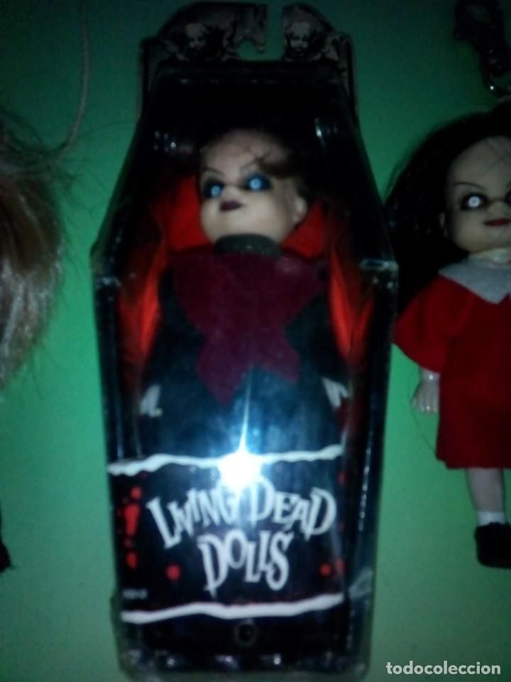 Muñecas Modernas: lote muñeca mini living dead dolls serie 1 - Foto 3 - 288918463
